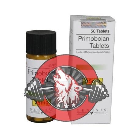 Primobolan Tablets Genesis (25 mg/tab) 50 tabs
