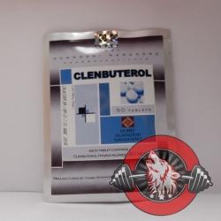 Clenbuterol Hubei (40 mcg/tab) 50 tabs