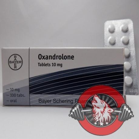 Oxandrolone Tablets Bayer (10 mg/tab) 100 tabs