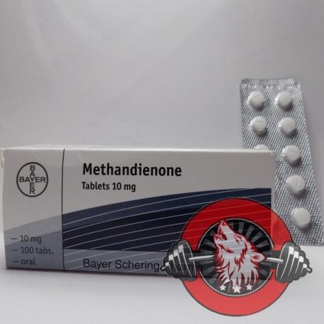 Methandienone Bayer (10 mg/tab) 100 tabs