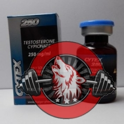 Cytex 250, Testosterone Cypionate, Thaiger Pharma, 250mg/10ml