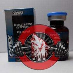 Cytex 250, Testosterone Cypionate, Thaiger Pharma, 250mg/10ml
