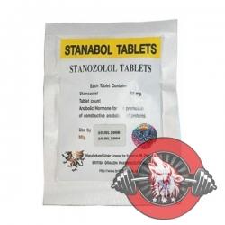 Stanabol 10mg x 100 tablets (British Dragon)