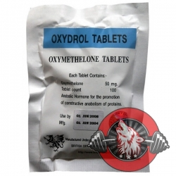 Oxydrol 50mg x 100 tablets (British Dragon)