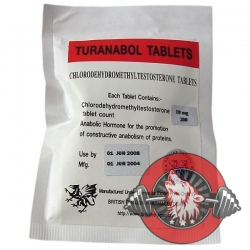 Turanabol 10mg x 200 tablets (British Dragon)
