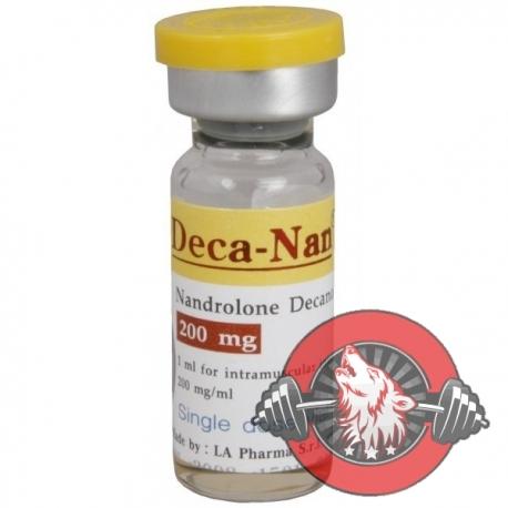 Deca-Nan (Nandrolone Decanoate) by LA Pharma 200mg/ml vials