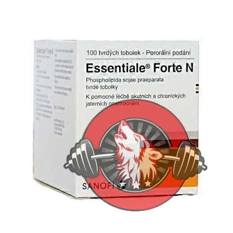 Essentiale Forte N cps.100x300mg - Protect liver