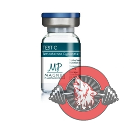 TEST C - Testosterone cypionate U.S.P. 250mg - Magnus