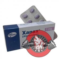 XANAX - 30x - 1mg - Alprazolamum